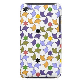 Spanskt geometriskt mönster - vit iPod touch Case-Mate fodral