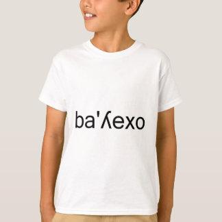 spanskt phonetic stava för vallejotypografi tröja