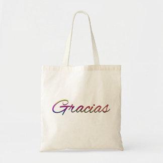 SPANSKT SPRÅK THANKFU för thank-you-394201 GRACIAS Tote Bags