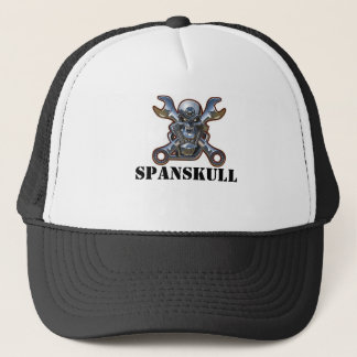 SPANSKULL TRUCKERKEPS