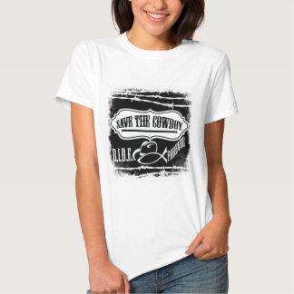Spara bekläda för Cowboy Tee Shirt