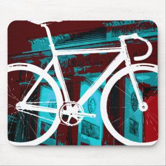 Spåra cykeln Berlin - röd blått Musmatta