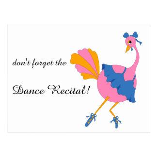 Spara danshögläsningen daterar med vykort