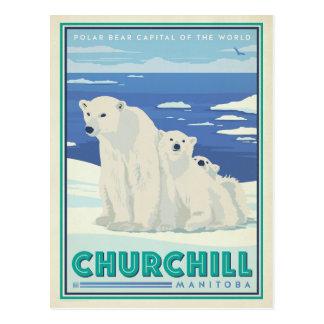 Spara datera | Churchill, Manitoba Vykort