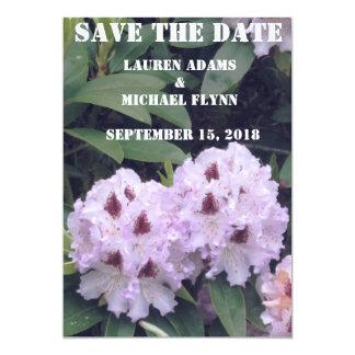 Spara datera med det blomma/Wedding/Party kortet 12,7 X 17,8 Cm Inbjudningskort