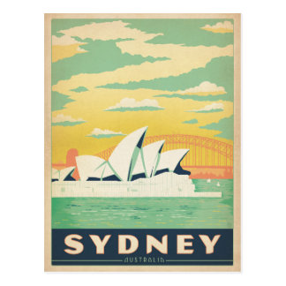 Spara datera | Sydney, Australien Vykort