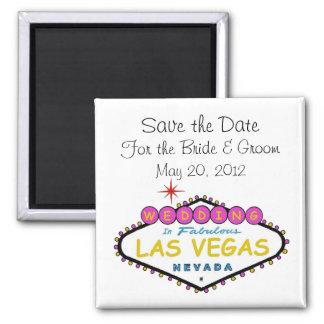 Spara daterabröllop i den Las Vegas magneten