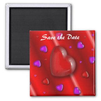 Spara daterahjärtamagneten magneter för kylskåp
