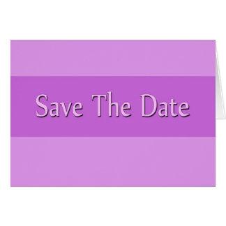 Spara datumet hälsningskort