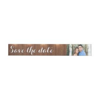 Spara datumet inslagadressetikett
