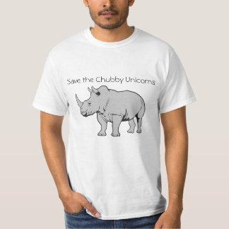Spara de knubbiga unicornsna tee shirt