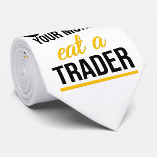 Spara dina pengar äter en affärsman slips