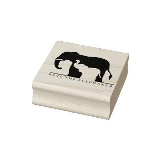 Spara elefanterna stämpel