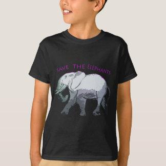 Spara elefanterna! tee shirt
