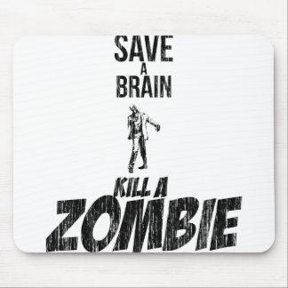 Spara en hjärndöda en zombie mus mattor