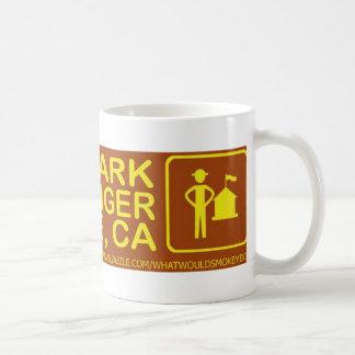 spara en parkerakram en skogsvaktareSan Jose saker Kaffemugg