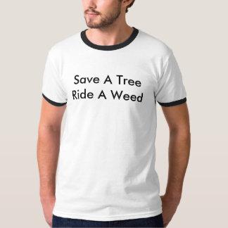 Spara en trädritt ett ogräs - sektor 9 tröjor