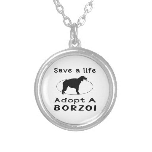 Spara ett liv adopterar en Borzoi Personliga Halsband