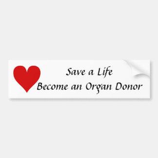 Spara ett liv blir och bildekal