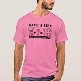 SPARA ett LIV Spay och steriliserar din T Shirts