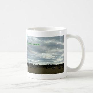 Spara ett träd, plantera en kvarn! kaffemugg