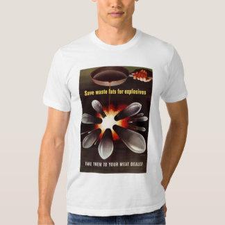 Spara för sprängmedel t-shirt