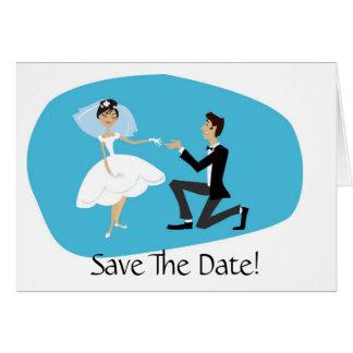 Spara gifta sig för daterakort som är åtfölja hälsningskort