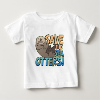 Spara havsuttrarna t-shirt