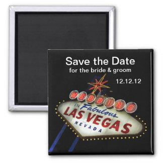 Spara magneten för dateraLas Vegas bröllop Magnet