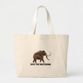 Spara mastodonsna tote bag
