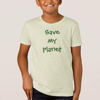 Spara min planetT-tröja Tshirts