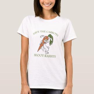 Spara morotforkaninerna tee shirts