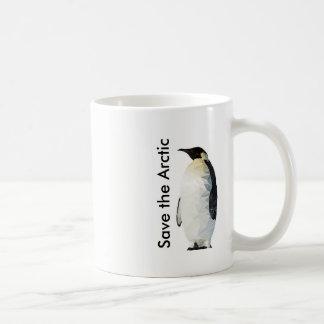 Spara muggen för den arktiskPolyart pingvinet Kaffemugg