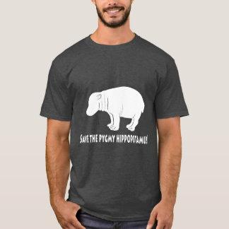 Spara Pigmyflodhästen T-shirts