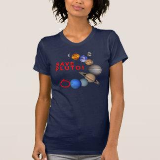 Spara Pluto (det sol- systemet) T Shirt