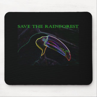 Spara rainforesten Mousepad Toucan Musmatta