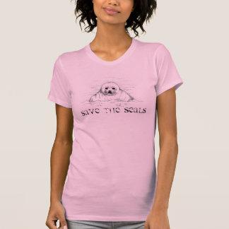 Spara sälar tee shirts