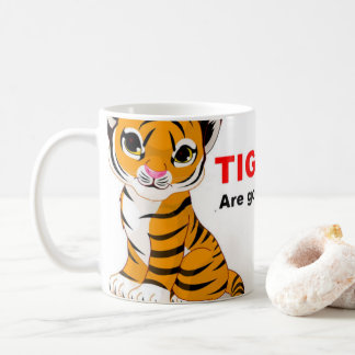 Spara tigermuggar kaffemugg
