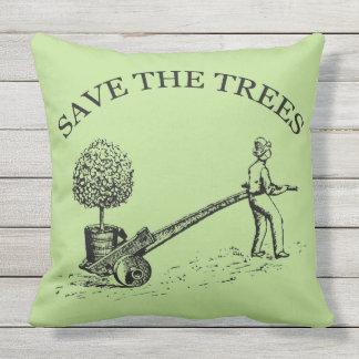 Spara träden, den utomhus- som kudde