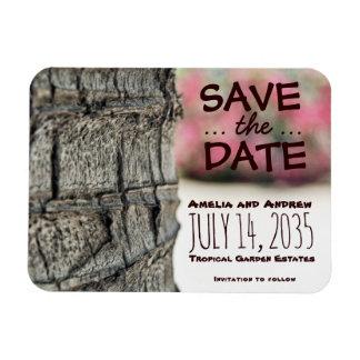 Spara trädgården för bröllop för magnet