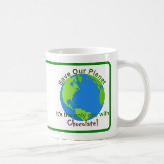 Spara vår planetmugg kaffemugg