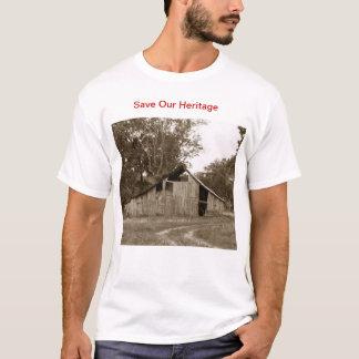 Spara vår skjorta för ladugårdar T Tee Shirts