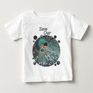 Spara våra hav - minnessaker av hav tee shirts