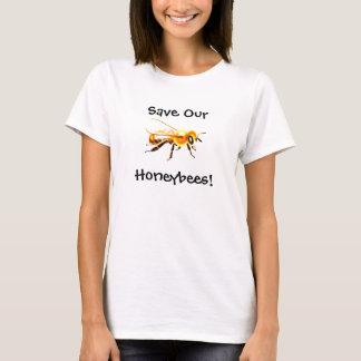Spara våra Honeybees! Tröjor