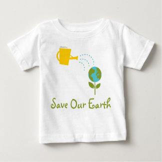 Spara våra jordbabyutslagsplatser t shirts