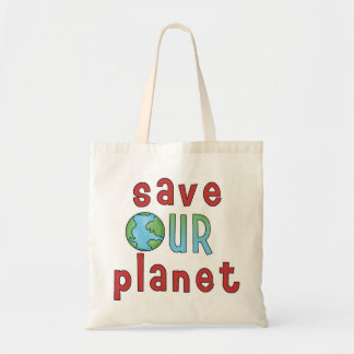 Spara vårt planet *Accent Bag* Budget Tygkasse
