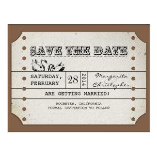 spara vykorten för dateravintagebiljetten