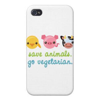 Sparadjur går vegetarian iPhone 4 skydd
