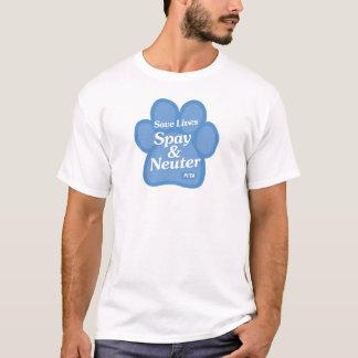 Sparaliv, Spay & steriliserar skjortan T Shirt