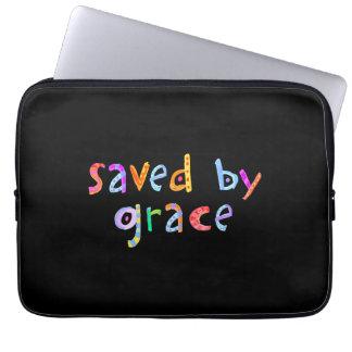 Sparat av nådroligt- och funkykristen laptop sleeve